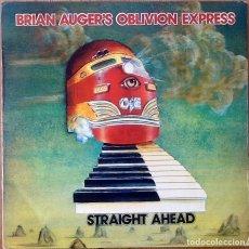 Discos de vinil: BRIAN AUGER'S OBLIVION EXPRESS : STRAIGHT AHEAD [ESP 1974] LP. Lote 134035830