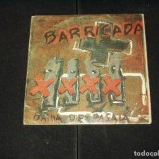 Discos de vinilo: BARRICADA SINGLE BAHIA DE PASAIA. Lote 134037794