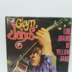 Discos de vinilo: SINGLE ** GLYN JOHNS ** LIKE GRAINS OF YELLOW SAND ** COVER/EXCELLENT /NM ** SINGLE/ EXCELLENT**1967. Lote 134037894