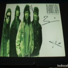 Discos de vinilo: BARRICADA LP PASION POR EL RUIDO AUTOGRAFOS DEL GRUPO. Lote 134039594