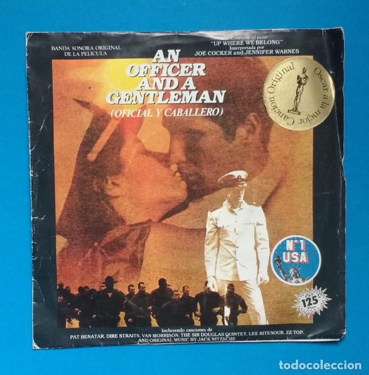 OFICIAL Y CABALLERO ( BSO ) (Música - Discos - Singles Vinilo - Bandas Sonoras y Actores)