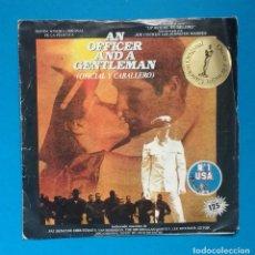 Discos de vinilo: OFICIAL Y CABALLERO ( BSO ). Lote 134041462