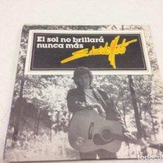 Discos de vinilo: EDUARDO MARTÍ - EL SOL NO BRILLARÁ NUNCA MÁS (7-- SINGLE). Lote 134045890