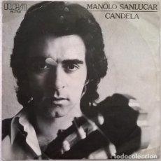 Discos de vinilo: MANOLO SANLUCAR – CANDELA (ESPAÑA, 1980). Lote 134046394