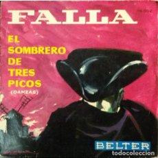 Discos de vinilo: MANUEL DE FALLA ?– EL SOMBRERO DE TRES PICOS (DANZAS) [ESPAÑA, 1961). Lote 134047486