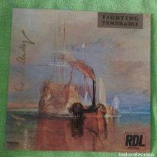 Discos de vinilo: EL PECHO DE ANDY - FIGHTING TEMERAIRE. Lote 134048918