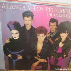 Discos de vinilo: ALASKA Y LOS PEGAMOIDES GRANDE EXITOS LP 1982 HISPAVOX. Lote 134050238
