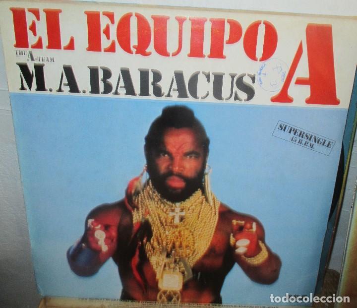 COMANDO - MAXI SINGLE RCA 1985 - EL EQUIPO A - M A BARACUS (Música - Discos de Vinilo - Maxi Singles - Grupos Españoles de los 70 y 80)