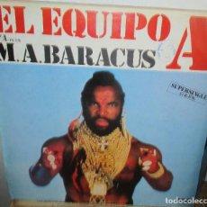 Discos de vinilo: COMANDO - MAXI SINGLE RCA 1985 - EL EQUIPO A - M A BARACUS. Lote 195251205