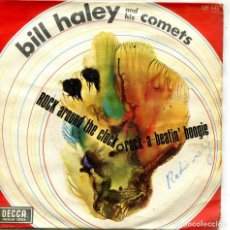 Discos de vinilo: BILL HALEY AND HIS COMETS / ROCK AROUND THE CLOCK / ROCK-A-BEATIN' BOOGIE (SINGLE 1968). Lote 134067534