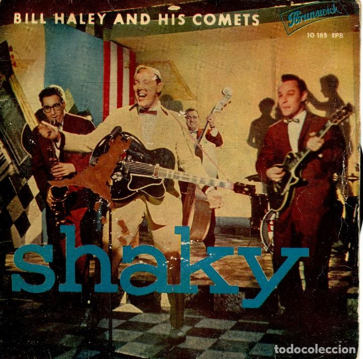 Discos de vinilo: BILL HALEY AND HIS COMETS (ROCKIN THE OLDIES) / MACK THE KNIFE / SWEET SUE, JUST YOU + 2 (EP 1960) - Foto 1 - 134067770