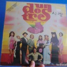 Discos de vinilo: UN,DOS,TRES LP ,LOTE 469. Lote 134070078