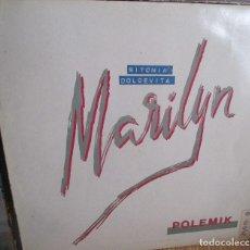 Discos de vinilo: POLEMIK - MARILYN MAXI - PDI 1984 - JOSEP LLOBELL. Lote 134070534