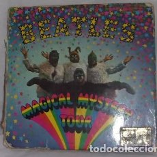 Discos de vinilo: SINGLE DOBLE DE BEATLES, MAGICAL MYSTERY TOUR, ODEON 1964-1967. Lote 134072426