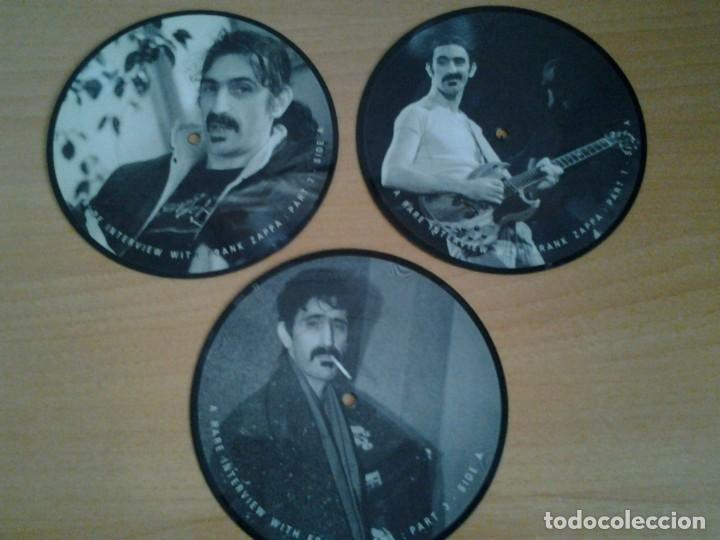 FRANK ZAPPA -A RARE INTERVIEW- PACK 3 PICTURE DISC BAKPAK 1003 ED. LIMITADA ED. INGLESA (Música - Discos - Singles Vinilo - Jazz, Jazz-Rock, Blues y R&B)