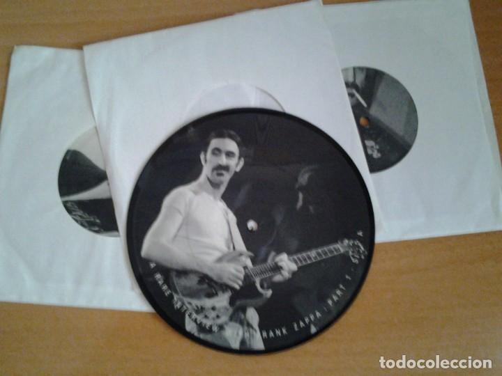 Discos de vinilo: FRANK ZAPPA -A RARE INTERVIEW- PACK 3 PICTURE DISC BAKPAK 1003 ED. LIMITADA ED. INGLESA - Foto 2 - 262900595