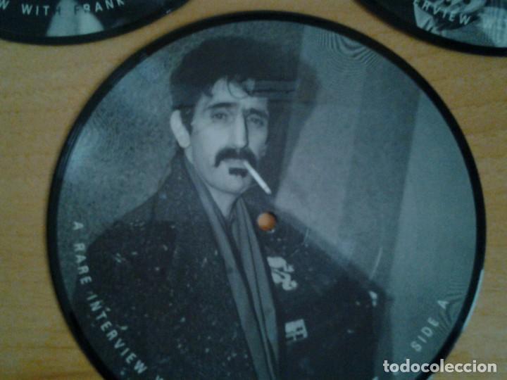 Discos de vinilo: FRANK ZAPPA -A RARE INTERVIEW- PACK 3 PICTURE DISC BAKPAK 1003 ED. LIMITADA ED. INGLESA - Foto 3 - 262900595