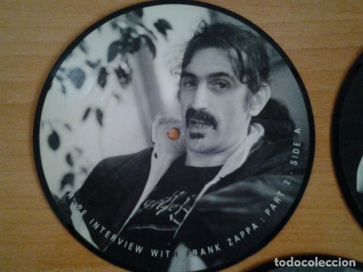 Discos de vinilo: FRANK ZAPPA -A RARE INTERVIEW- PACK 3 PICTURE DISC BAKPAK 1003 ED. LIMITADA ED. INGLESA - Foto 5 - 262900595