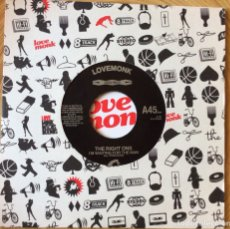 Discos de vinilo: THE RIGHT ONS HEY YEAH / IM WAITING FOR THE MAN LOVE MONK EXC+. Lote 134074682