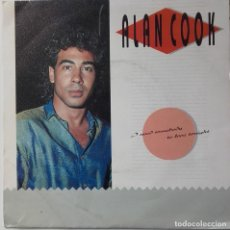 Discos de vinilo: ALAN COOK: I NEED SOMEBODY TO LOVE TONIGHT. Lote 134076306