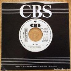 Discos de vinilo: OLE OLE DAME PROMOCIONAL CBS 1983. Lote 134076646