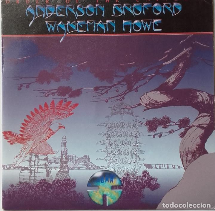 ANDERSON BRUFORD WAKEMAN HOWE: ORDER OF THE UNIVERSE (Música - Discos - Singles Vinilo - Electrónica, Avantgarde y Experimental)