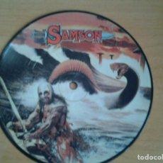 Discos de vinilo: SAMSON SINGLE PICTURE DISC -RED SKIES-LIVING, LOVING, LYING- POLYDOR 1983 POLS 1077 BRUCE DICKINSON . Lote 134077930