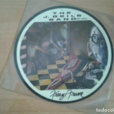 Discos de vinilo: THE J. GEILS BAND SINGLE PICTURE DISC -FREEZE FRAME- EMI AMERICA 1981 EAP 134-B EN MUY BUENAS CONDI. Lote 134078318
