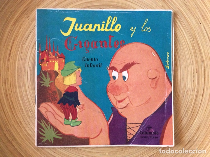 CUENTO INFANTIL JUANILLO Y LOS GIGANTES DISCO+CUENTO AÑO1960 (Música - Discos - Singles Vinilo - Música Infantil)