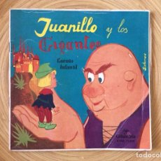 Discos de vinilo: CUENTO INFANTIL JUANILLO Y LOS GIGANTES DISCO+CUENTO AÑO1960. Lote 134078906