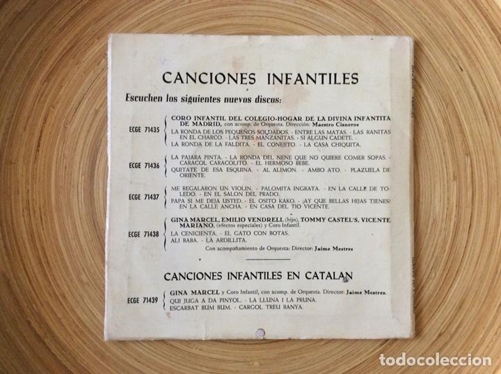 Discos de vinilo: CUENTO INFANTIL JUANILLO Y LOS GIGANTES DISCO+CUENTO AÑO1960 - Foto 2 - 134078906