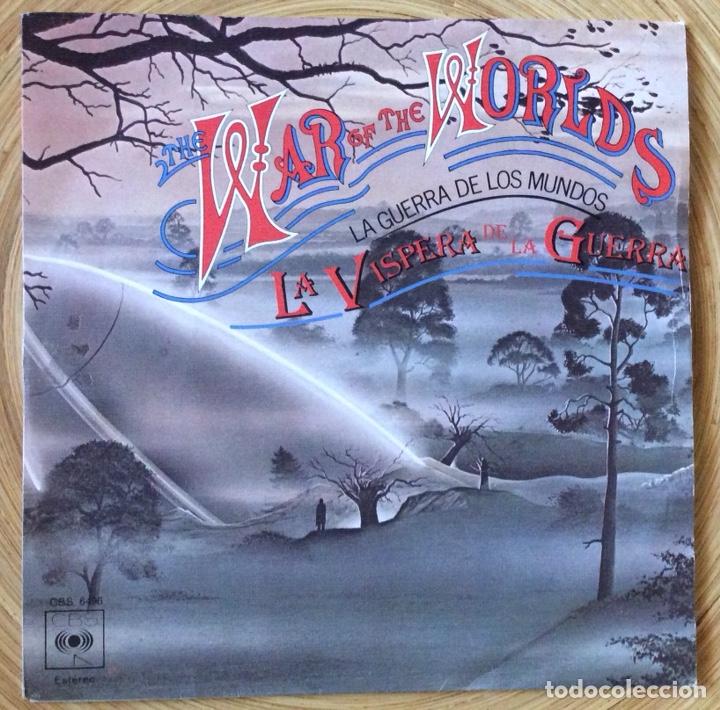 LA GUERRA DE LOS MUNDOS SINGLE BANDA SONORA EDIC ESPAÑA 1978 (Música - Discos - Singles Vinilo - Bandas Sonoras y Actores)