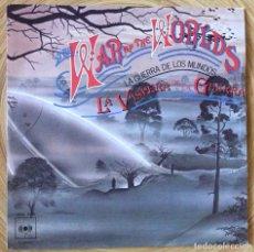 Discos de vinilo: LA GUERRA DE LOS MUNDOS SINGLE BANDA SONORA EDIC ESPAÑA 1978. Lote 134083042