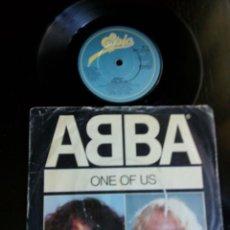 Discos de vinilo: ABBA - ONE OF US_EDICION INGLESA UK. Lote 134086418