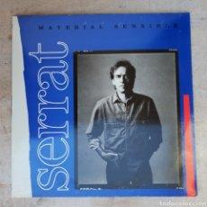 Discos de vinilo: LP JOAN MANUEL SERRAT MATERIAL SENSIBLE. Lote 134089849