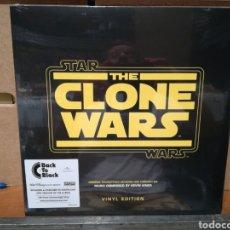 Discos de vinilo: THE CLONE WARS LP STAR WARS PRECINTADO. Lote 134094970