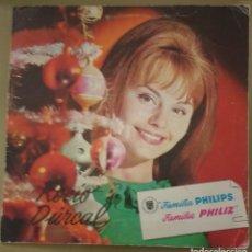 Discos de vinilo: ROCIO DURCAL - FAMILIA PHILIPS - CANTANDO LA NAVIDAD 1965. Lote 134099166