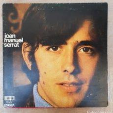 Discos de vinilo: LP JOAN MANUEL SERRAT. Lote 134099983