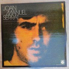 Discos de vinilo: LP JOAN MANUEL SERRAT. Lote 134101654