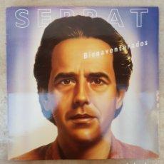 Discos de vinilo: LP JOAN MANUEL SERRAT BIENAVENTURADOS. Lote 134103509