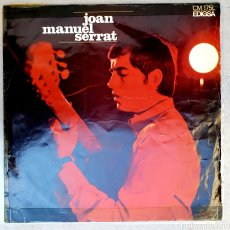 Discos de vinilo: LP JOAN MANUEL SERRAT 1967. Lote 134107133