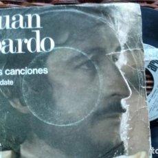Discos de vinilo: SINGLE (VINILO) DE JUAN PARDO AÑOS 70. Lote 134112950