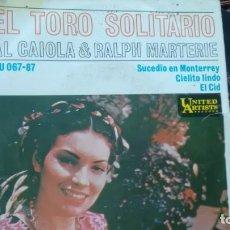 Discos de vinilo: E P (VINILO) DE AL CAIOLA & RALPH MARTERIE AÑOS 60. Lote 134113190