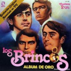 Discos de vinilo: LOS BRINCOS - ALBUM DE ORO (2LPS) 1981. Lote 134114046