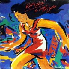 Discos de vinilo: RAMONCÍN - AL LÍMITE VIVO Y SALVAJE (2LPS) 1990. Lote 134114238