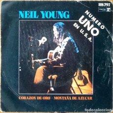Discos de vinilo: NEIL YOUNG : HEART OF GOLD [ESP 1972]. Lote 134114370
