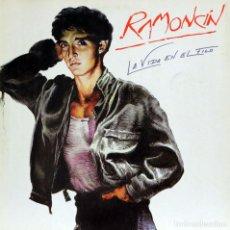 Discos de vinilo: RAMONCÍN - LA VIDA EN EL FILO (LP) 1986. Lote 134114654