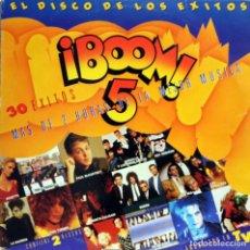 Discos de vinilo: BOOM 5 - GRANDES EXITOS (2LPS) 1989. Lote 134116470