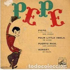 Discos de vinilo: RUSS CONWAY / THE AVONS... - PEPE / SUNSET + 2 - EP VINILO ROJ, LA VOZ DE SU AMO 1961. Lote 134118950