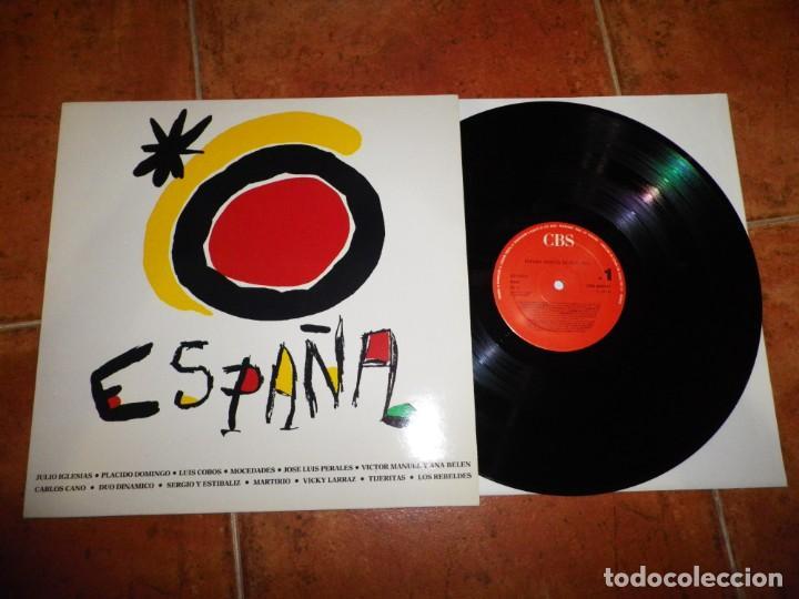 ESPAÑA MUSICA BAJO EL SOL LP VINILO 1988 JOAN MIRO DUO DINAMICO MOCEDADES VICKY LARRAZ LOS REBELDES (Música - Discos - LP Vinilo - Grupos Españoles de los 90 a la actualidad)